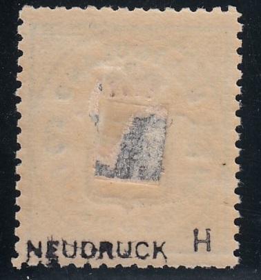 Julius Goldner und die Helgoland - Briefmarken Hel1b10