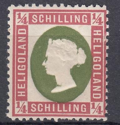 Julius Goldner und die Helgoland - Briefmarken Hel1c10