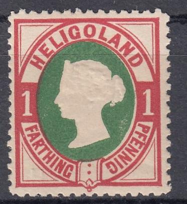 Julius Goldner und die Helgoland - Briefmarken Hel1e10