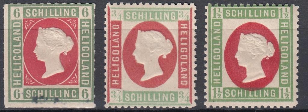 Julius Goldner und die Helgoland - Briefmarken Hel1g10
