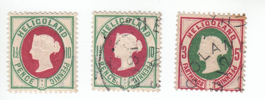 Opas Sammlung Helgoland - mache ich es richtig die auf Ebay zu verkaufen? Helgol10