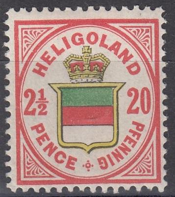 Julius Goldner und die Helgoland - Briefmarken Helma10