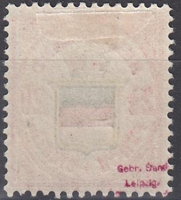 Julius Goldner und die Helgoland - Briefmarken Helmb10