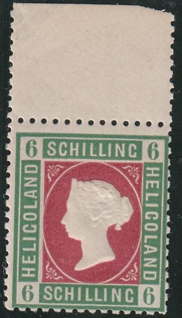 Julius Goldner und die Helgoland - Briefmarken Helmc10