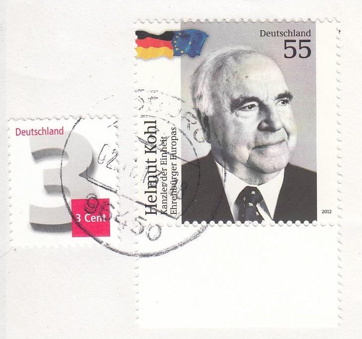 Briefmarke Helmut Kohl Hk10