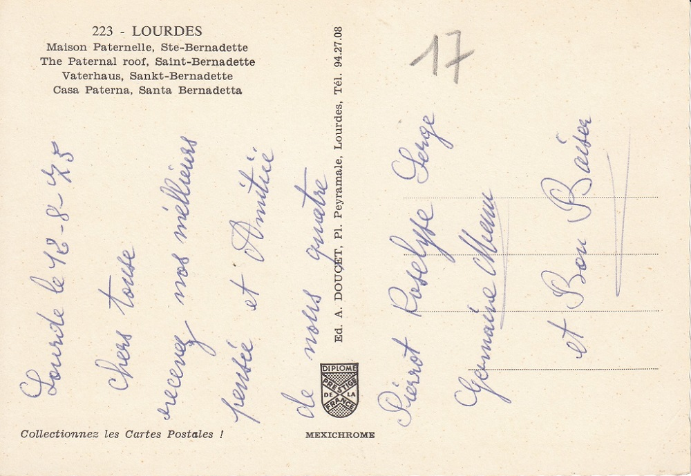 Wallfahrtsort Lourdes L-3710