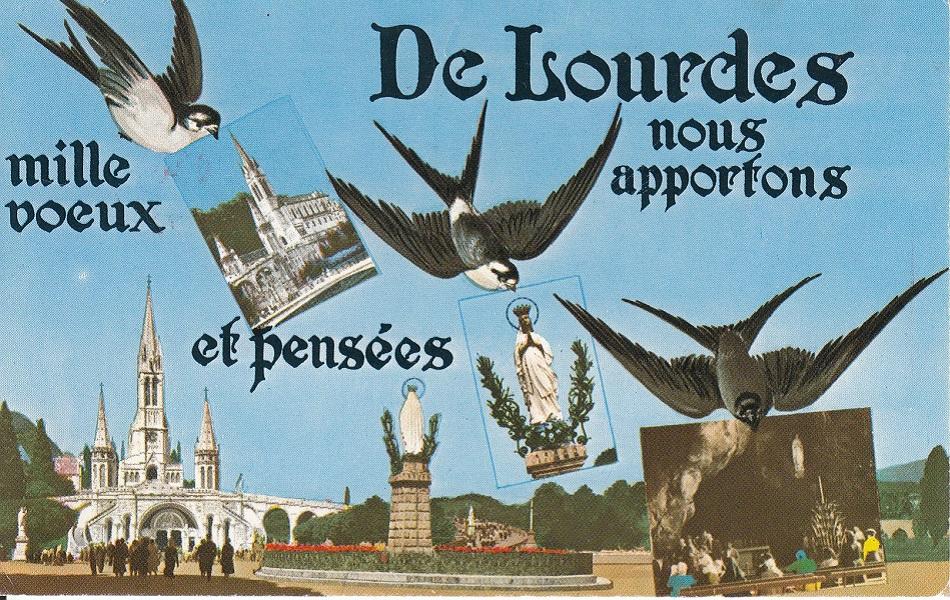 Wallfahrtsort Lourdes L-3810