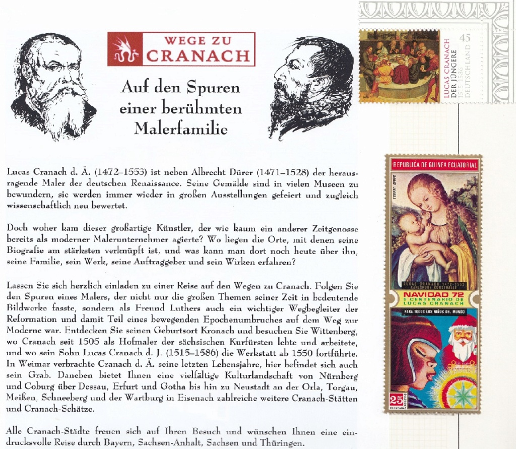 Wege zu Lucas Cranach  Lc110