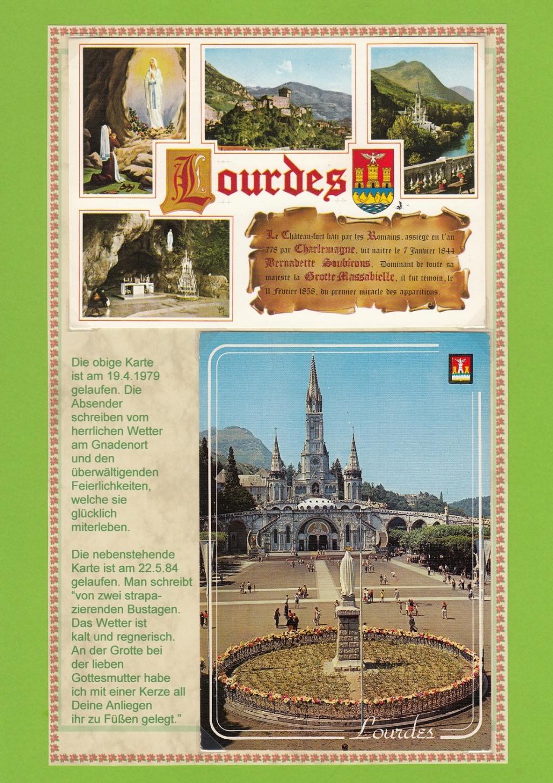 Wallfahrtsort Lourdes Lourde12