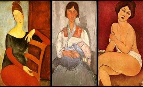 "Die ""seltsame"" Malerei des Amedeo Modigliani Modi310"