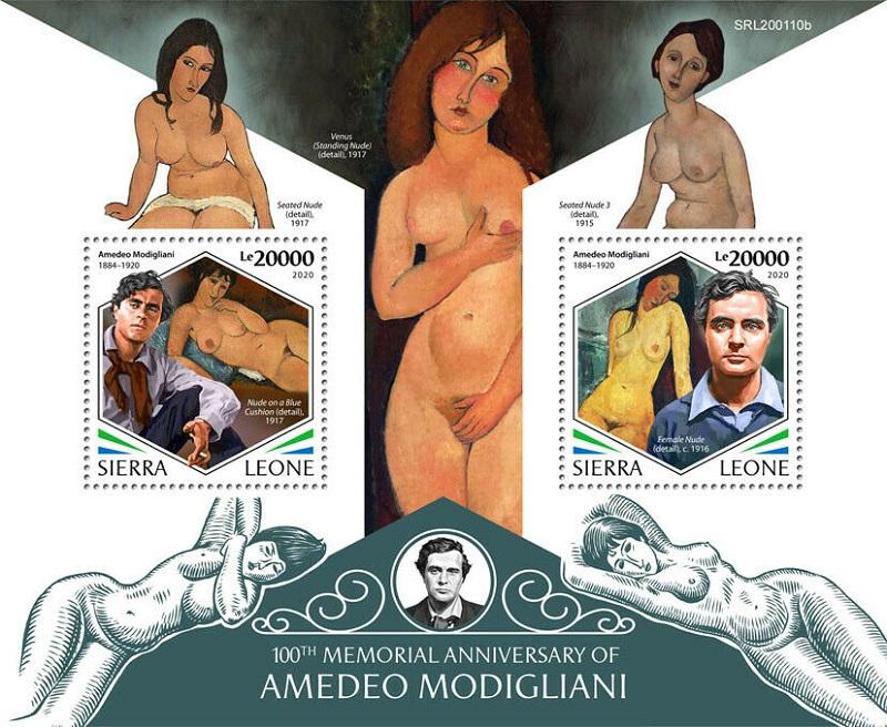 "Die ""seltsame"" Malerei des Amedeo Modigliani Modi510"