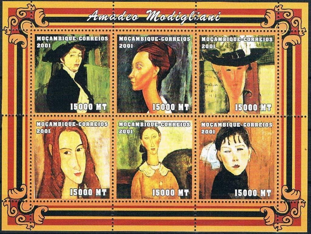 "Die ""seltsame"" Malerei des Amedeo Modigliani Modi710"