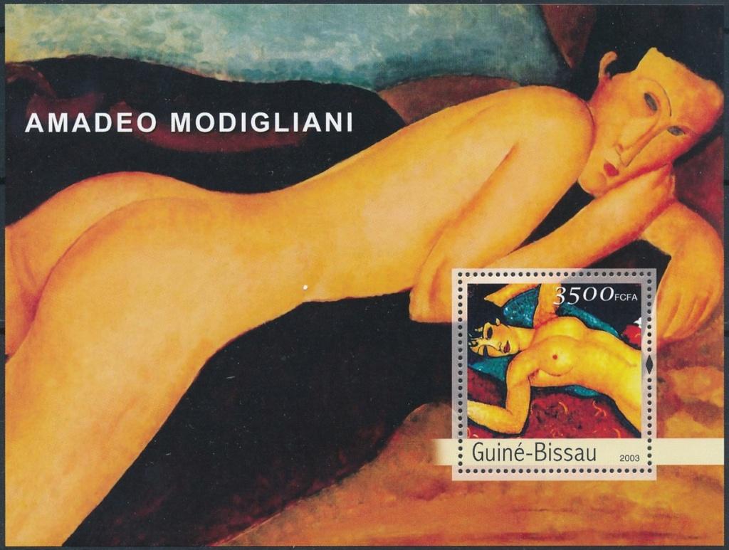 "Die ""seltsame"" Malerei des Amedeo Modigliani Modi910"