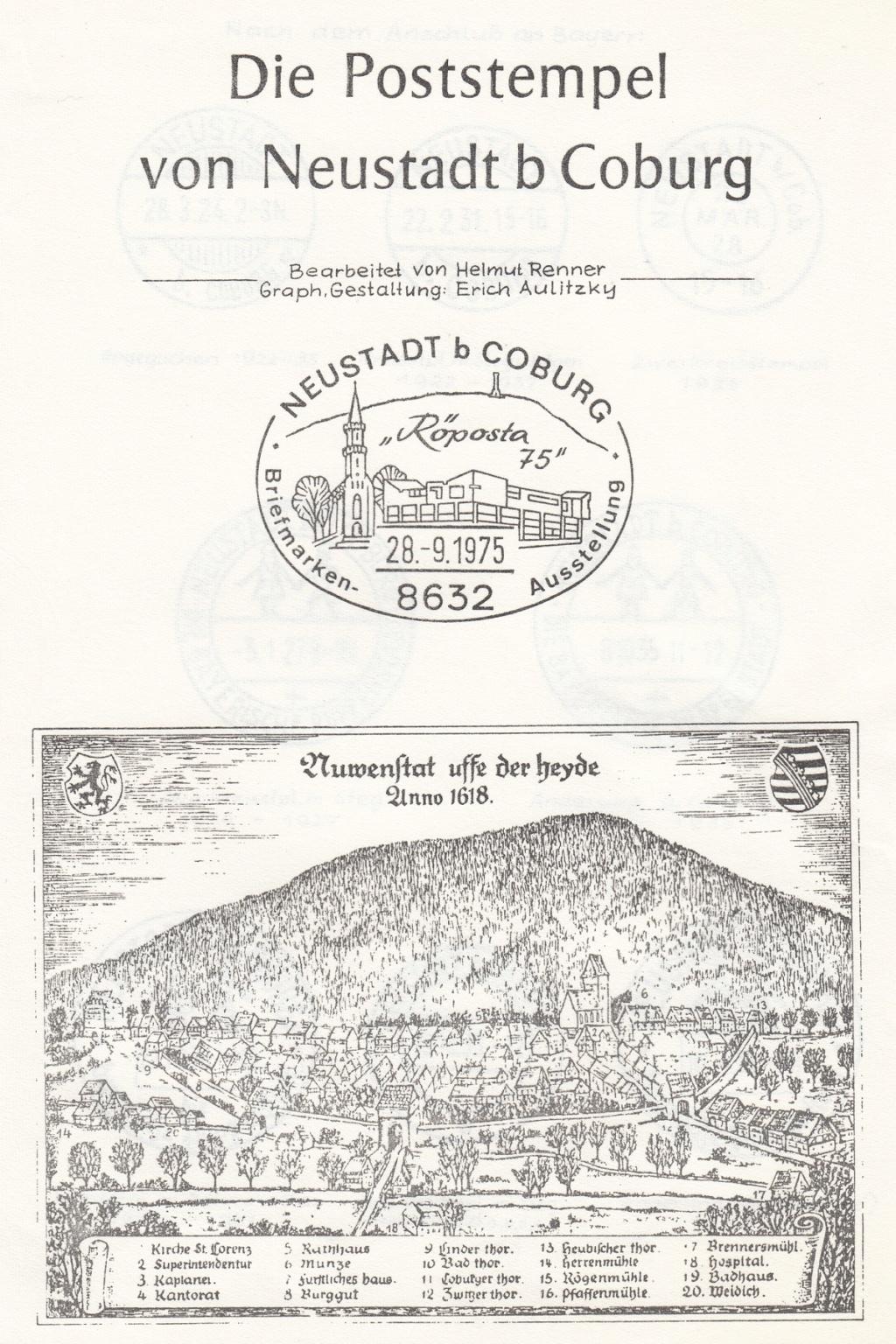 Die Postgeschichte von Neustadt bei Coburg Nec110