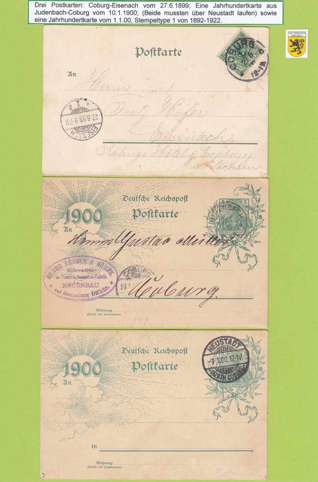 Die Postgeschichte von Neustadt bei Coburg Nec1810