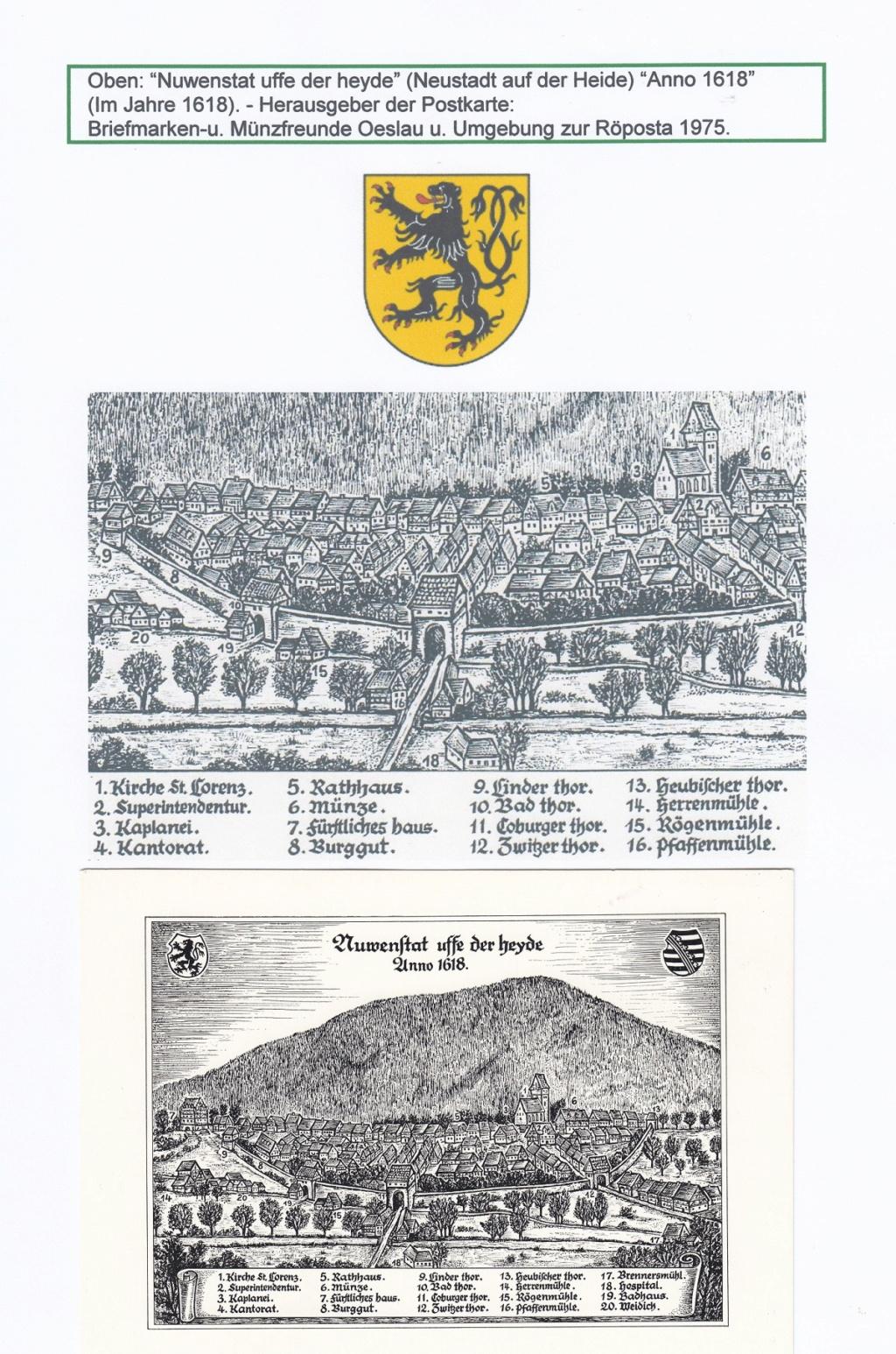 Die Postgeschichte von Neustadt bei Coburg Nec610