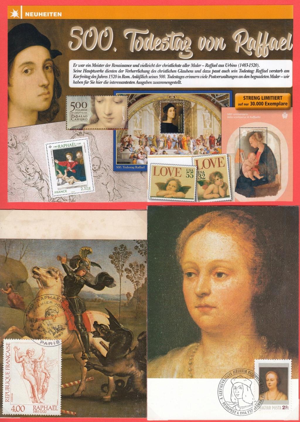 Raffael (bis in's 19. Jh hinein, galt er als der größte Maler aller Zeiten) Raf110