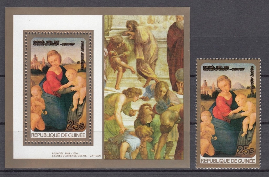 Raffael (bis in's 19. Jh hinein, galt er als der größte Maler aller Zeiten) Raff610