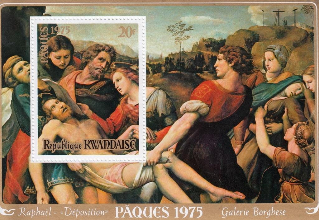 Raffael (bis in's 19. Jh hinein, galt er als der größte Maler aller Zeiten) Raff710