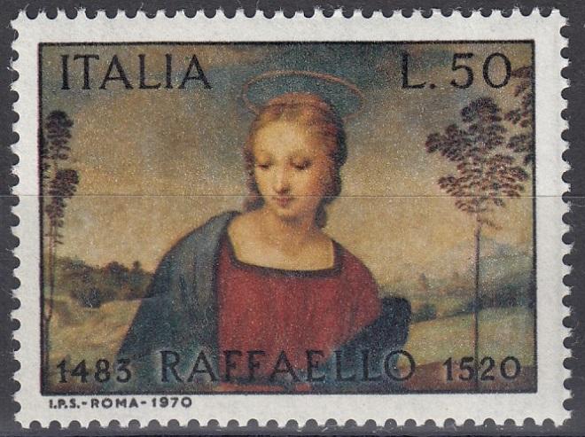 Raffael (bis in's 19. Jh hinein, galt er als der größte Maler aller Zeiten) Raffa212