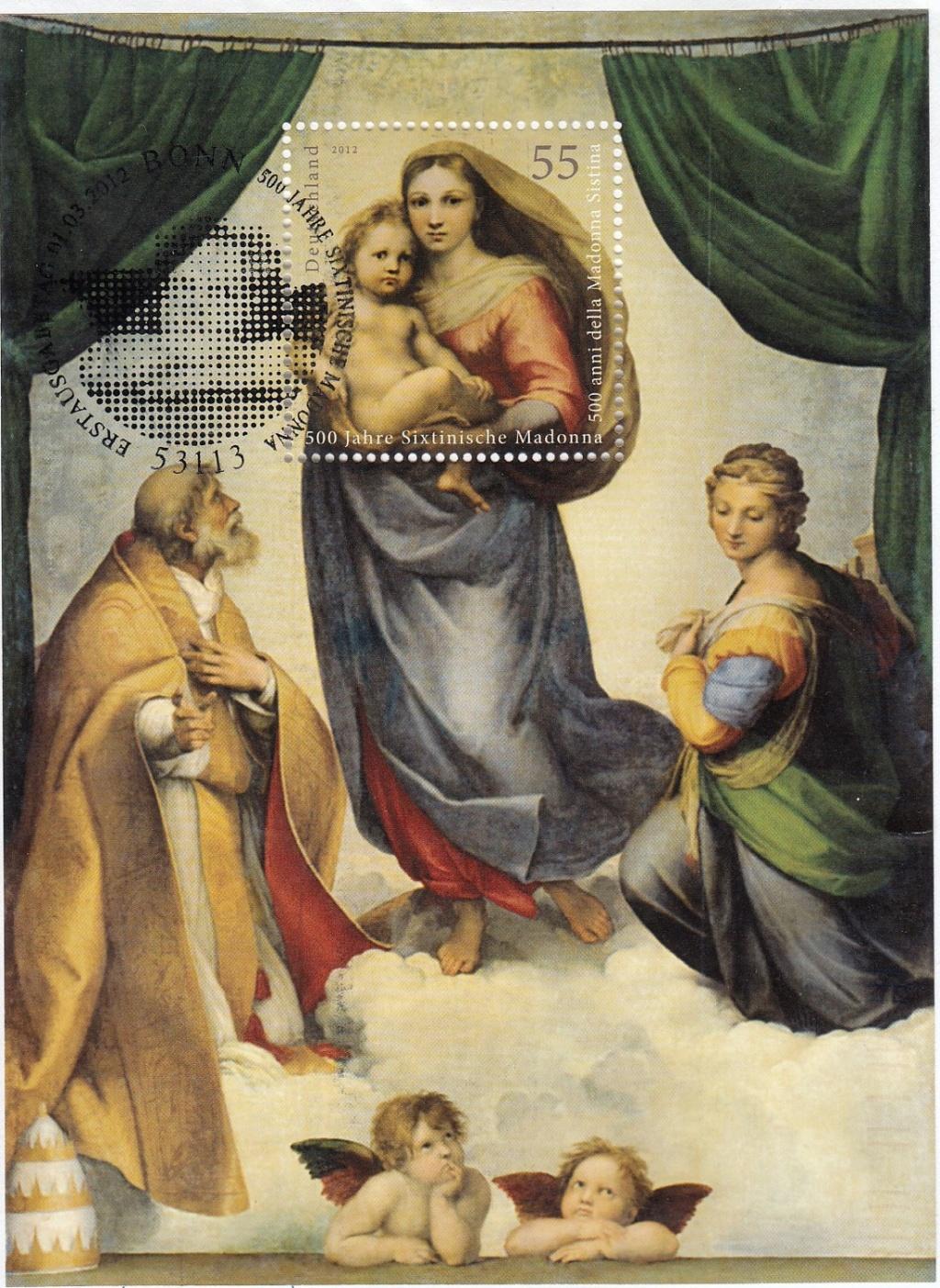 Raffael (bis in's 19. Jh hinein, galt er als der größte Maler aller Zeiten) Raffae10