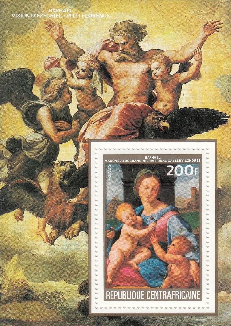 Raffael (bis in's 19. Jh hinein, galt er als der größte Maler aller Zeiten) Raffae12
