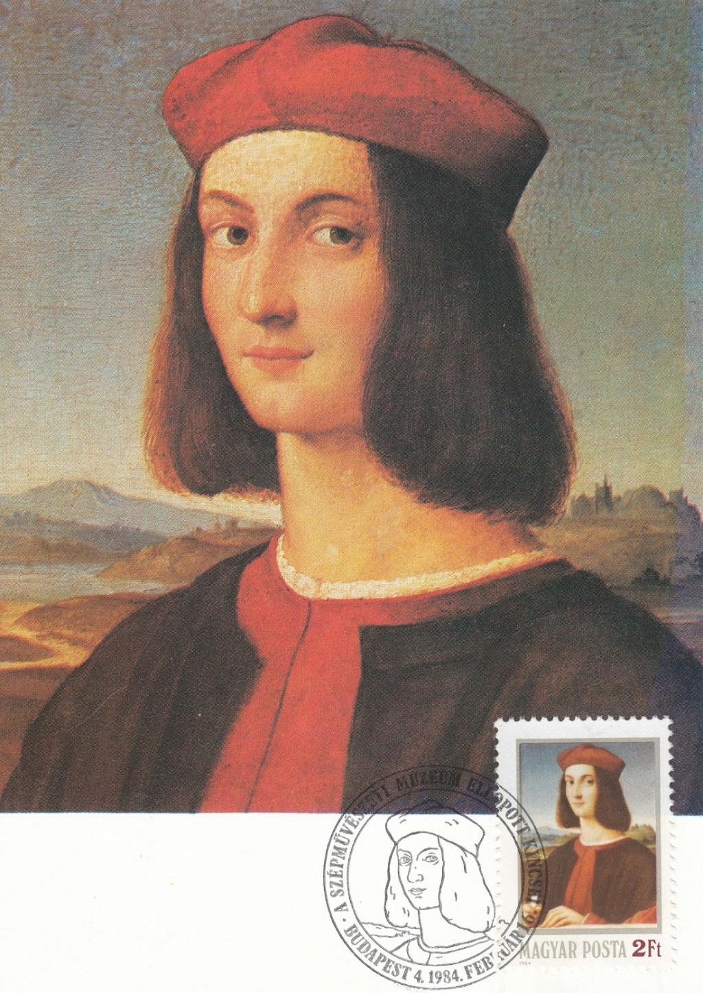 Raffael (bis in's 19. Jh hinein, galt er als der größte Maler aller Zeiten) Raffae15