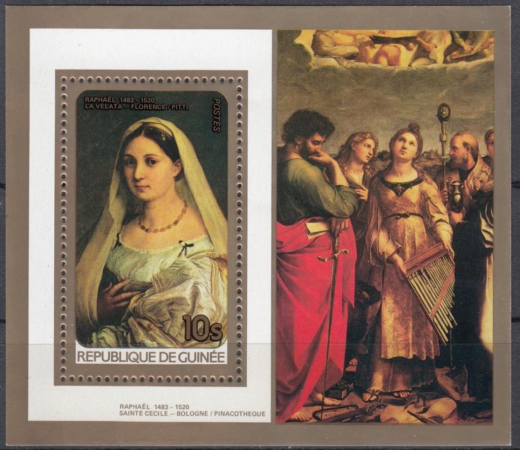 Raffael (bis in's 19. Jh hinein, galt er als der größte Maler aller Zeiten) Raffae17
