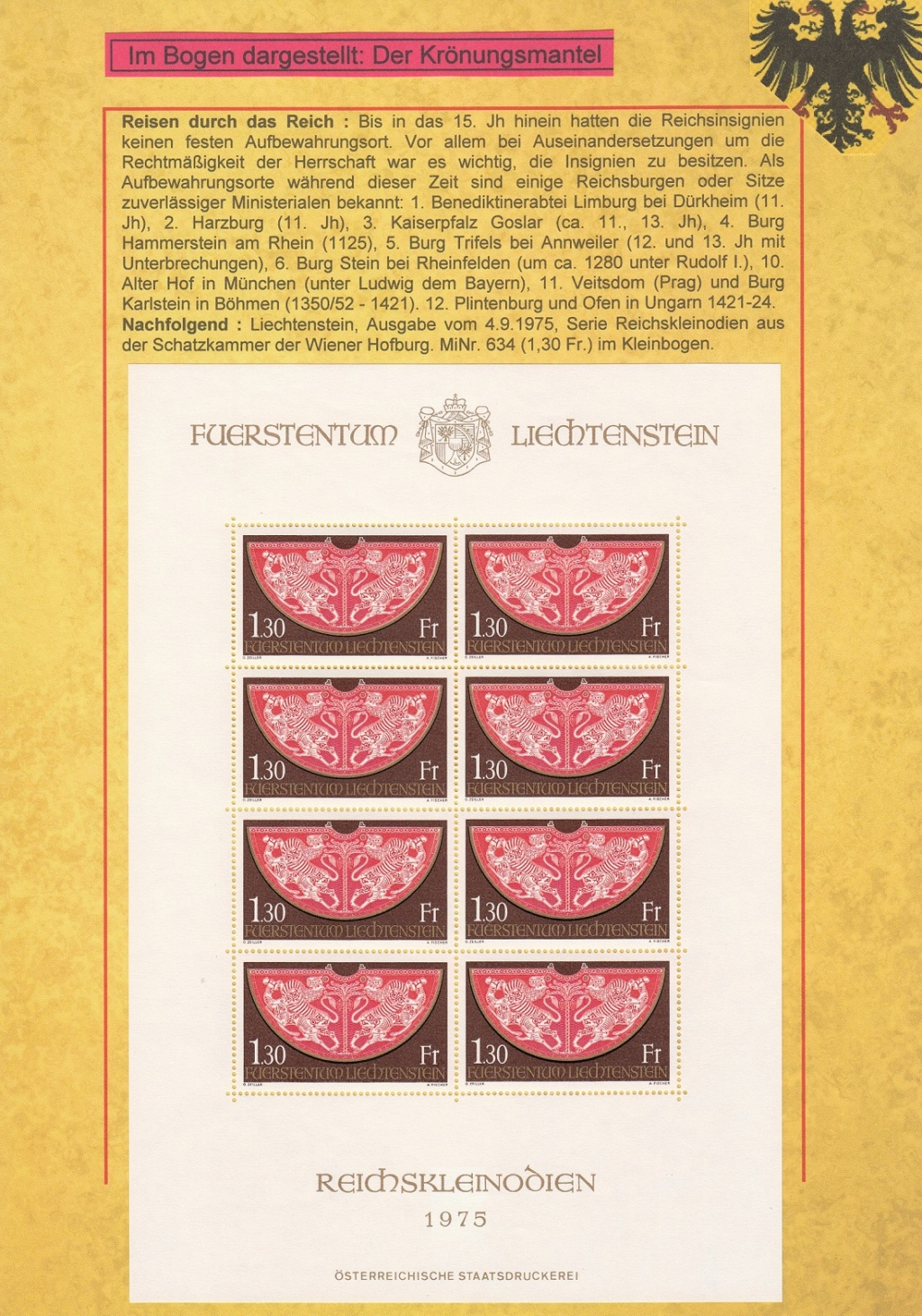 """Sammlung """"Der Reichschatz"""" Rkl410"""