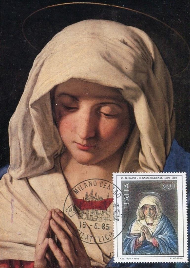 Die Madonnen des Sassoferrato Saf1510