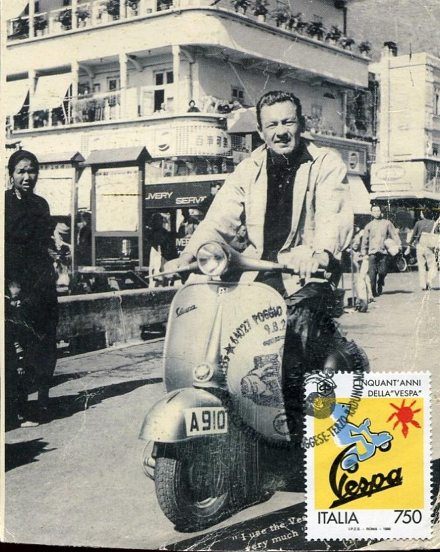 Vespa feiert seinen 75. Geburtstag Vespa210