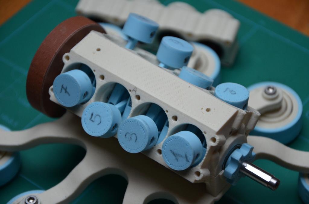 Moteur à air comprimé imprimé 3D Mamv8_14