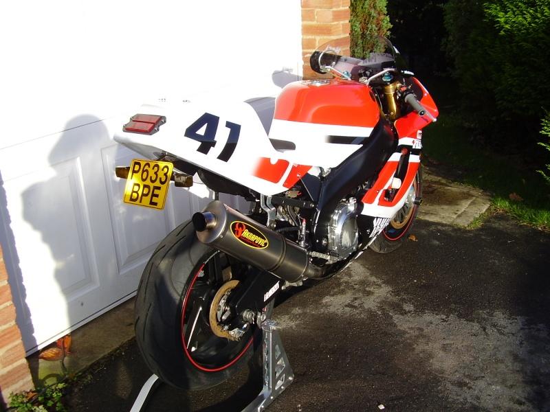 Yamaha 750 YZF  Wcio4510