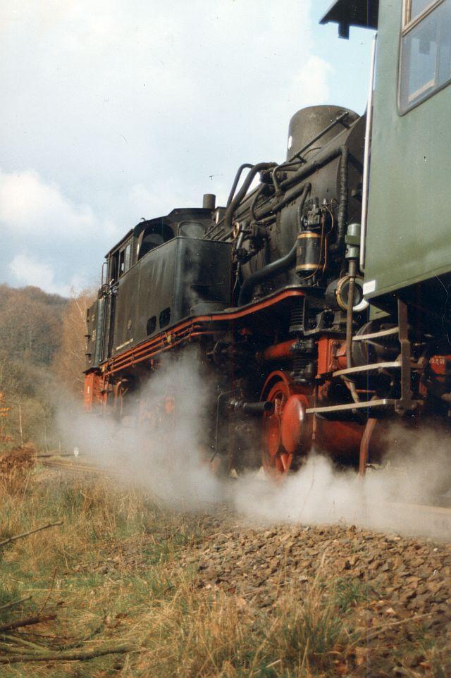 Dampflok 74 1192 in Witten 74_11910