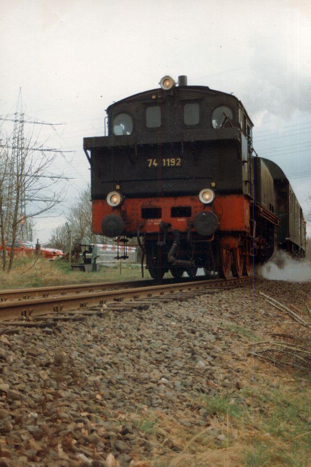 Dampflok 74 1192 in Witten 74_11911