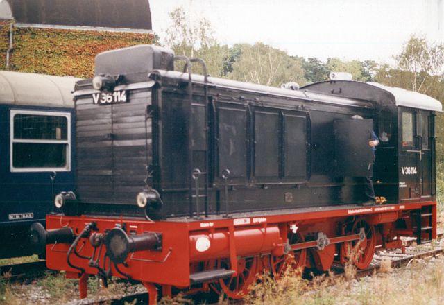 Die Diesellok der Baureihe 236 / V36 der DB - ex WR360 C14 V36_1110