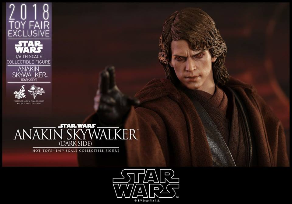 EP III : LA REVANCHE DES SITH - ANAKIN SKYWALKER DARSIDE TOY FAIR 2018 35887010
