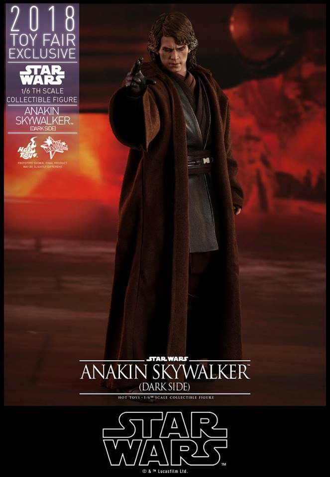 EP III : LA REVANCHE DES SITH - ANAKIN SKYWALKER DARSIDE TOY FAIR 2018 36054510