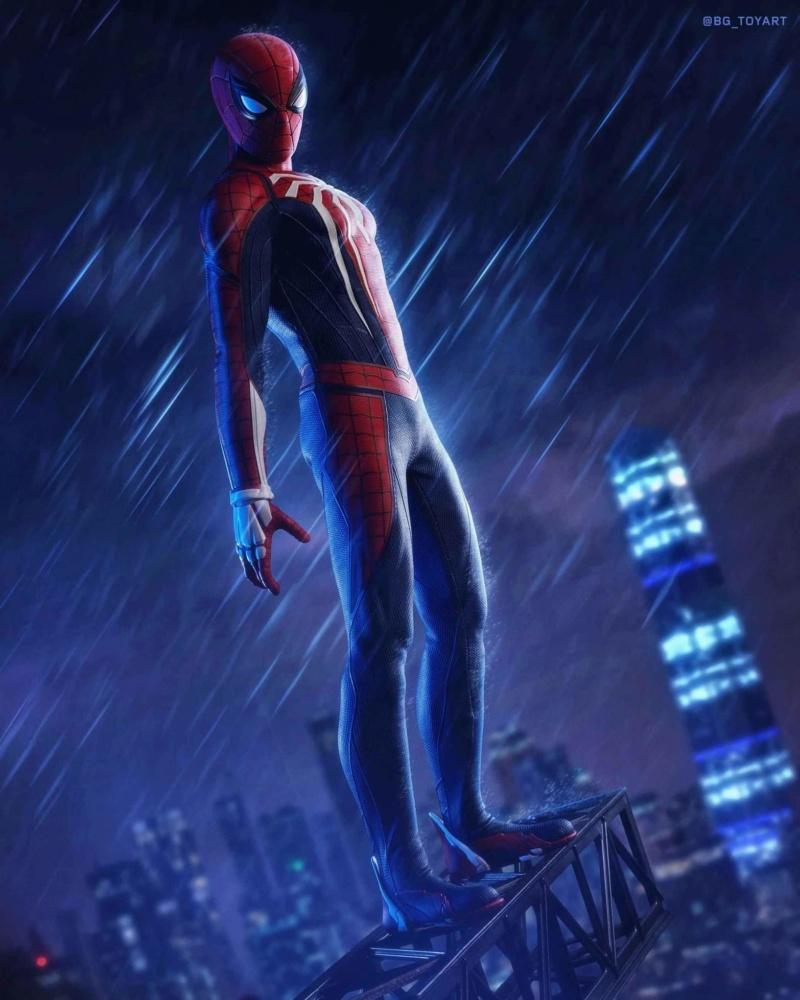 SPIDERMAN PS4 : SPIDERMAN ADVANCED SUIT Fb_im170