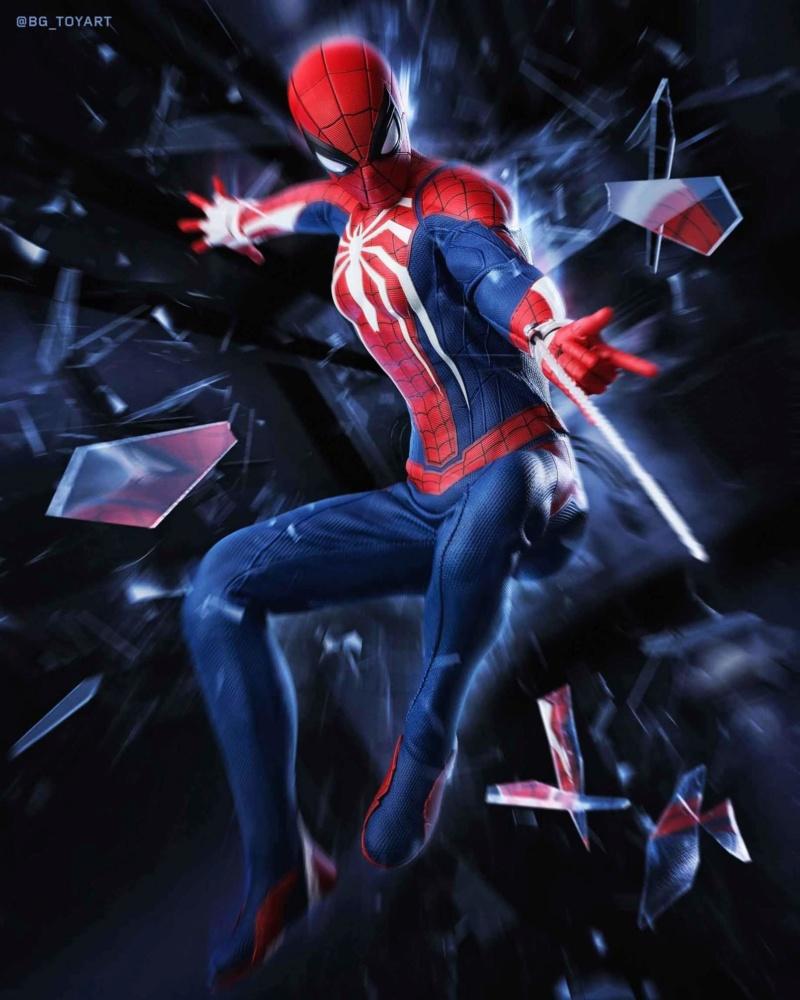 SPIDERMAN PS4 : SPIDERMAN ADVANCED SUIT Fb_im171
