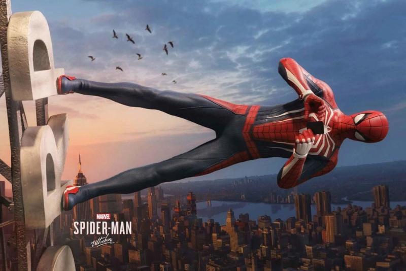 SPIDERMAN PS4 : SPIDERMAN ADVANCED SUIT Fb_im173