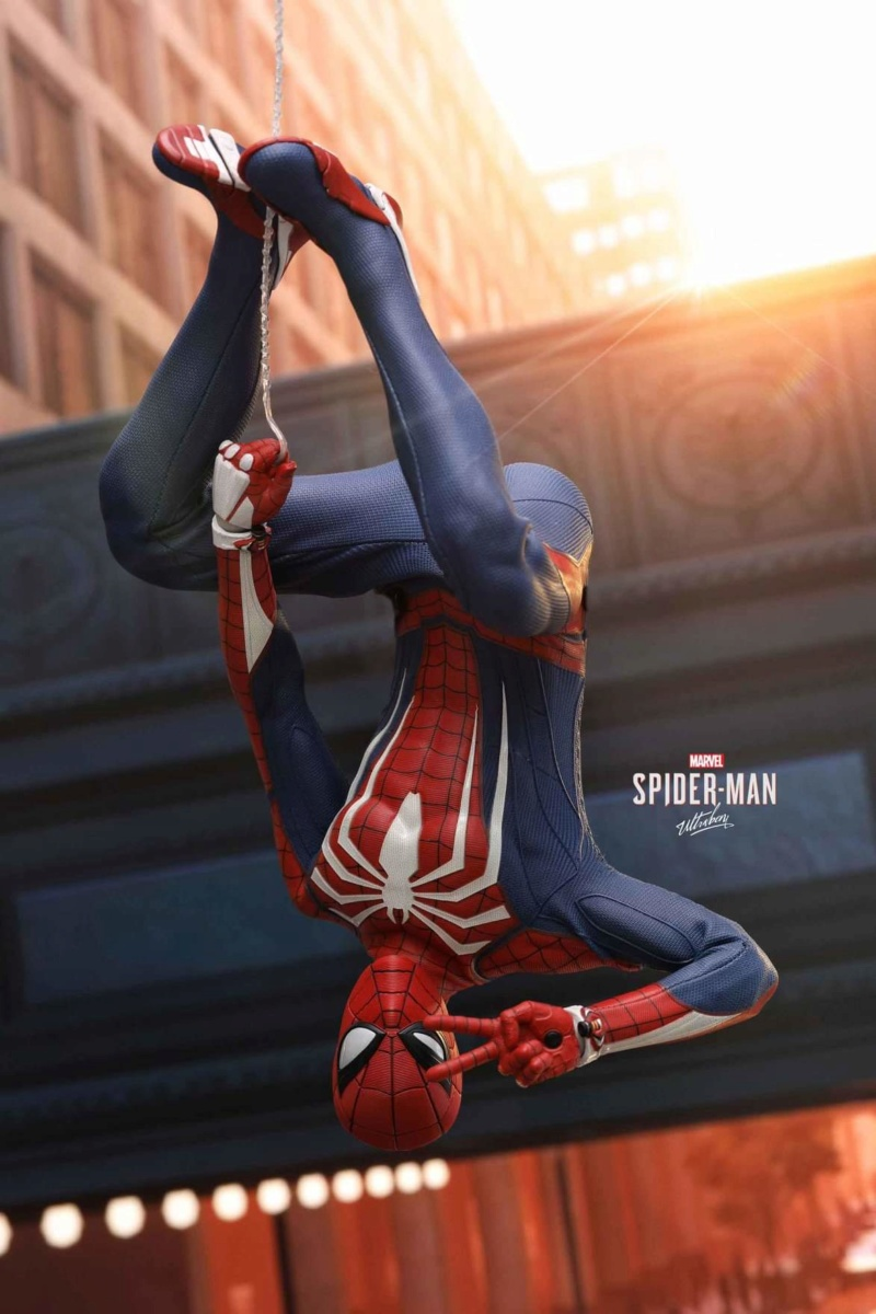 SPIDERMAN PS4 : SPIDERMAN ADVANCED SUIT Fb_im174