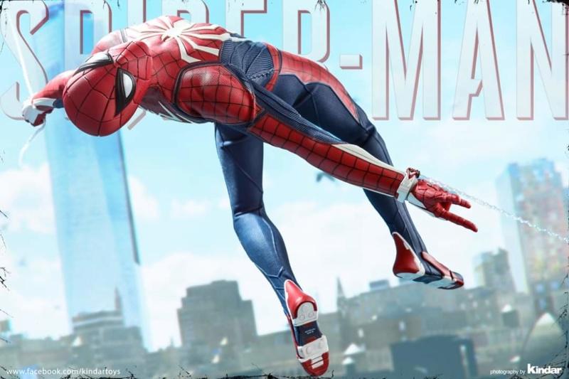 SPIDERMAN PS4 : SPIDERMAN ADVANCED SUIT Fb_im175
