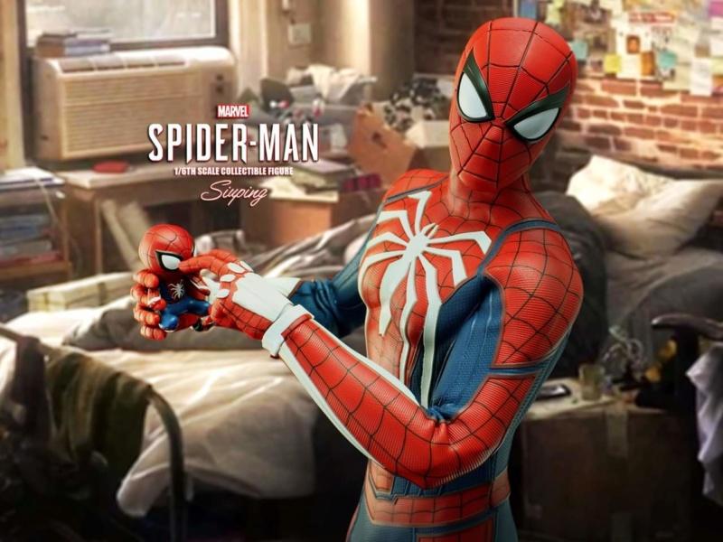 SPIDERMAN PS4 : SPIDERMAN ADVANCED SUIT Fb_im176