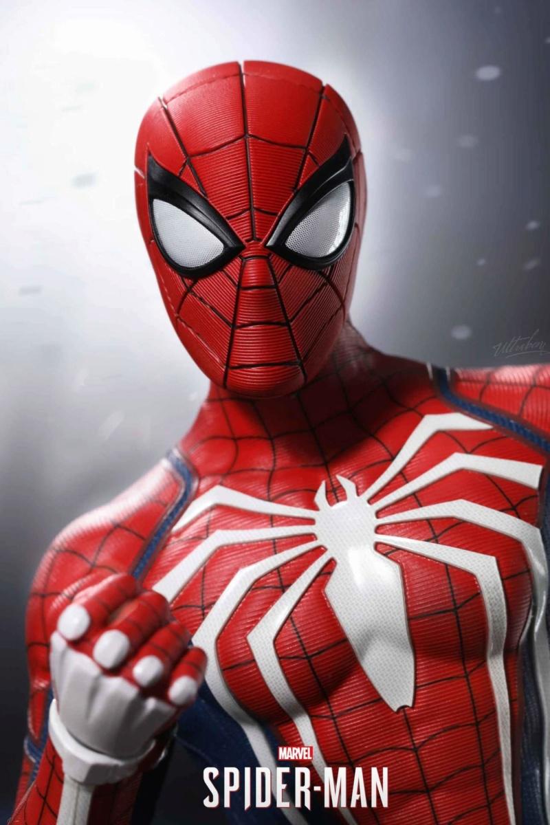 SPIDERMAN PS4 : SPIDERMAN ADVANCED SUIT Fb_im177