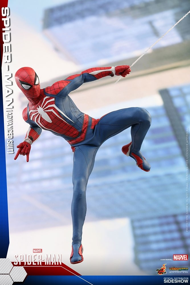 SPIDERMAN PS4 : SPIDERMAN ADVANCED SUIT Hot-to11