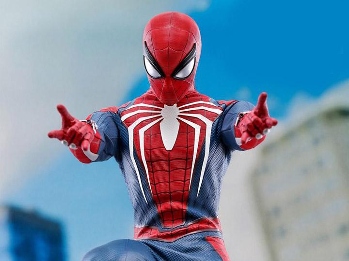 SPIDERMAN PS4 : SPIDERMAN ADVANCED SUIT Spider10