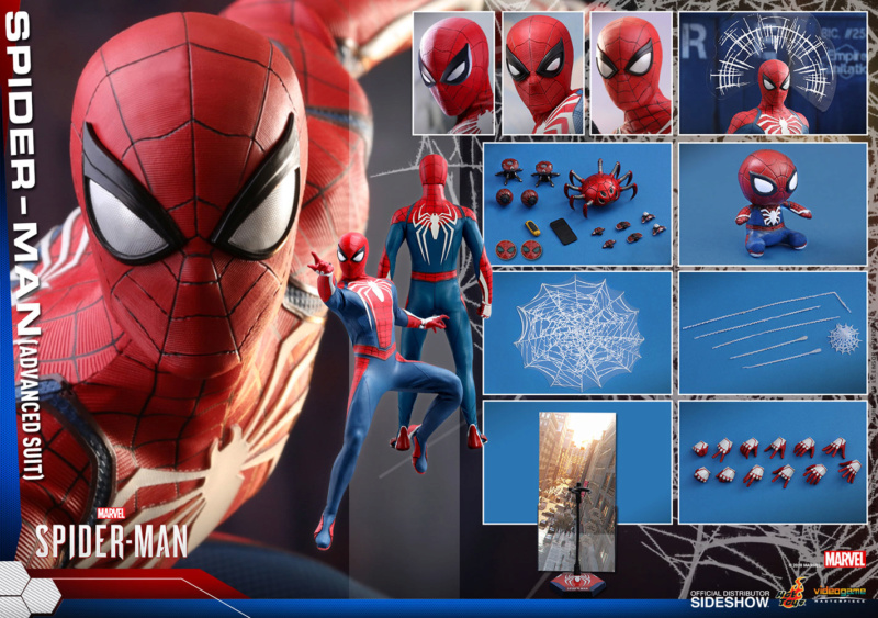 SPIDERMAN PS4 : SPIDERMAN ADVANCED SUIT Spider11