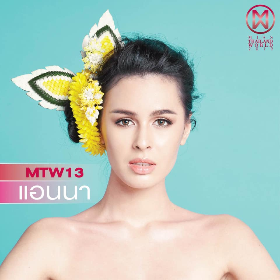 Round 15th : Miss Thailand World 2019 13124