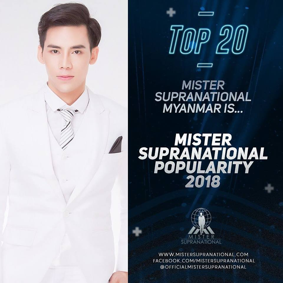 *** Road to MISTER SUPRANATIONAL 2018 is INDIA*** - Page 18 1585